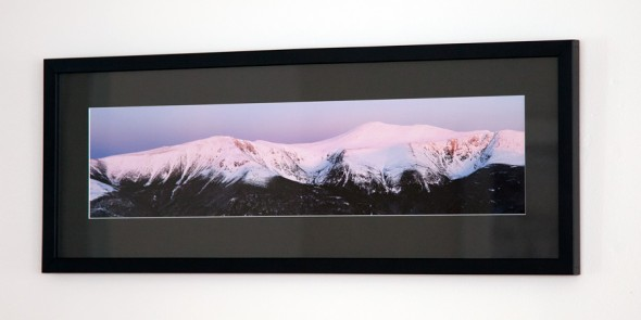 Framed Mount Washington Panoramic